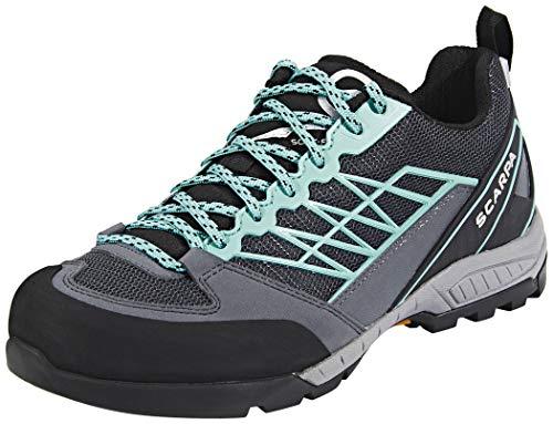 Scarpa Schuhe Epic Lite OD Women Größe 40,5 Dark Gray/Aqua