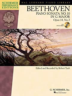 Beethoven: Piano Sonata No. 10 in G Major, Opus 14, No. 2 (Hal Leonard Piano Library)
