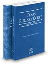 Texas Rules of Court - State and Federal, 2017 ed. (Vols. I & II, Texas Court Rules)