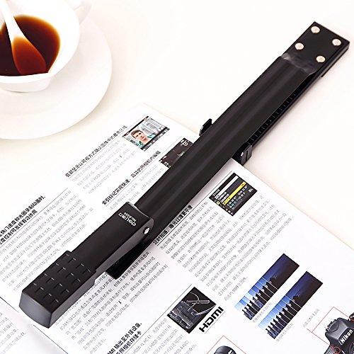Long Reach Stapler, Desktop Stapler Remover Dual Functions for Office or School, 40 Sheets Stapler, Compact, Low Force, 20 Sheets (14IN, Long Reach Stapler) Photo #5