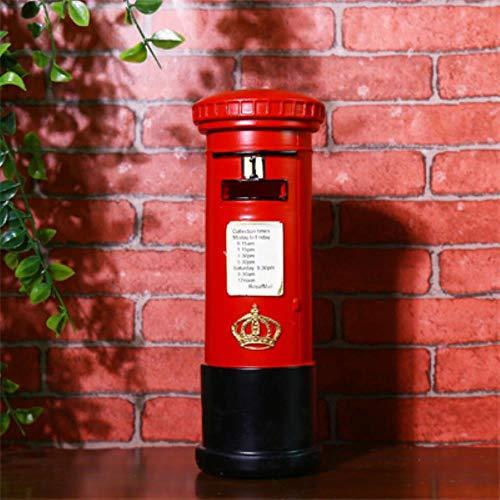 Europese Amerikaanse Landelijke Retro nostalgie UK brievenbus Bar Cafe wijnkast Ornamenten Woondecoratie geschenken nieuw, rood