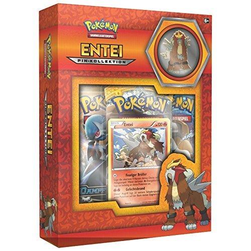 CAGO Unbekannt Pokémon Pin Box - Entei, Raikou, Suicun - Deutsch (Entei)