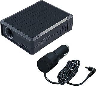 セイワ(SEIWA) バッテリーソケット F300 ドライブレコーダー 駐車監視電源 非常時バックアップ電源 DC12V対応 USB 5V 2.4A対応 PSE認証