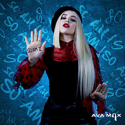 24x7 Poster Ava Max American Singer Songwriter so am i 30,5 x 45,7 cm