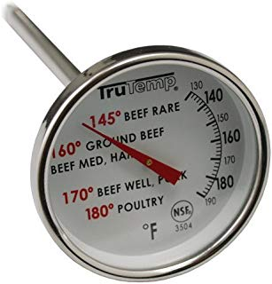TruTemp Meat Dial Kitchen Thermometer