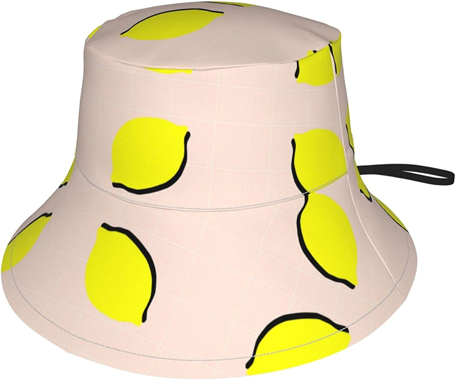 Minimal Lemon Kids Bucket Inventory cleanup selling sale Hat for Girls Max 41% OFF Sun Protection Boys