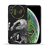 Twenty One Pilots 21 Pilots Soft Tpu Black Silicone Case Cover For Iphone 11 Pro Max 8 7 6 6S Plus X 5 5S Se Xs Xr Xs Max、For Iphone 7 8 12