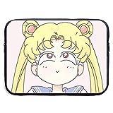 Laptop-Hülle Stoßfeste weiche Tragetasche Sailor Moon Tablet-Tasche für 15 Zoll