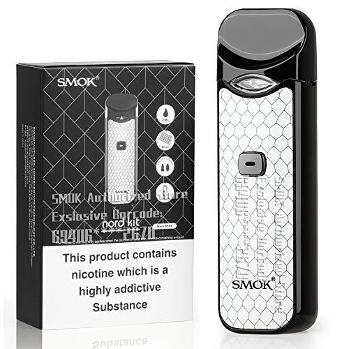 Official SMOK Nord 1100mAh 2ml E Cigarettes Vape Starter...