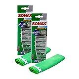 SONAX 2X 04165000 MicrofaserTuch Plus Innen & Scheibe 1 Stück