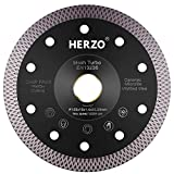HERZO Disco Diamante 125 mm,disco de corte de diamante...