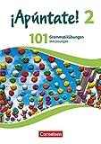 ¡Apúntate! - 2. Fremdsprache - Ausgabe 2016 - Band 2: 101 Grammatikübungen - Mit Lösungen online