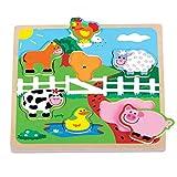 New Classic Toys Toys-30526 Puzzle (22x22 cm) (526), Multicolor (30526)