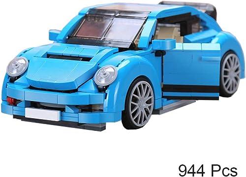 alto descuento Bloques de construcción Modelo DIY Beetle Car Set Set Set Bloques de construcción educativos para Niños Juguetes de ladrillo Regalos  envio rapido a ti