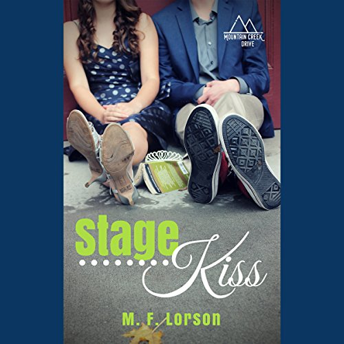 Stage Kiss audiobook cover art