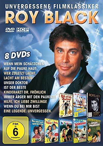 Roy Black - Unvergessene Filmklassiker [7 Filme & 1 Dokumentation auf 8 DVDs]