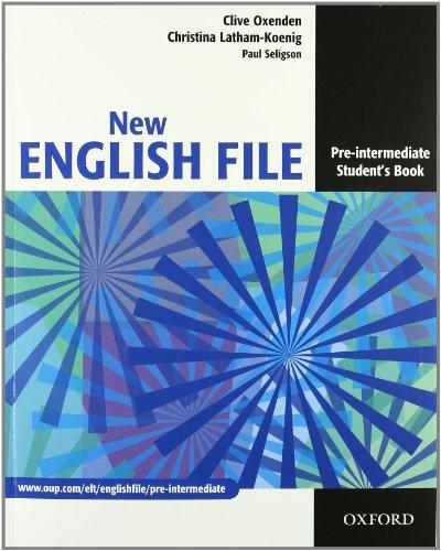 New english file. Pre-intermediate. Entry checker-Student's book-Workbook-My digital book. Per le Scuole superiori. Con espansione online