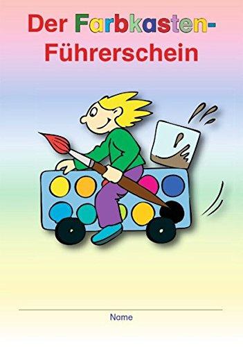 Der Farbkasten-Führerschein: 1./2. Klasse - 8 Karten mit je 4 Führerscheinen