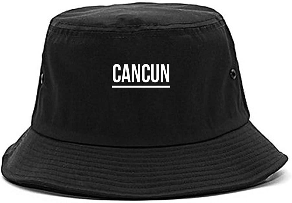 Max 88% OFF Safety and trust Kings Of NY City of Simple Bucket Underline Cancun Hat