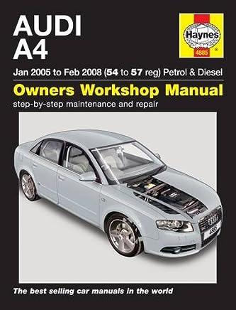 Audi A4 Petrol & Diesel (Jan 05 to Feb 08) Haynes Repair Manual