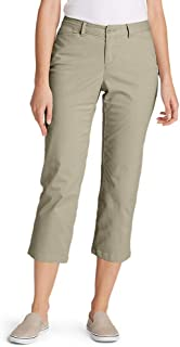 Women's Stretch Legend Wash Cropped Pants - Curvy Fit