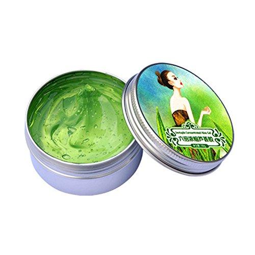 BOBORA Gel D'Aloe Vera Anti-acné Racleur d'huile Hydratant Réparation Gel 30g