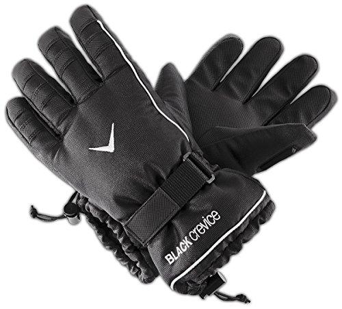 Black Crevice Handschuhe Gants Mixte, Noir, XXL