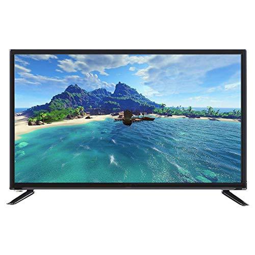 FOLOSAFENAR Ultra-schmale Lünette 32-Zoll-LCD-Fernseher HD LCD-Fernseher HDMI-HF-Antenneneingang Großbildschirm für Hotel-(British regulatory)