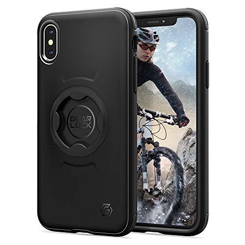 Spigen Gearlock Bike Mount Case Designed for iPhone Xs (2018) / Designed for X Case (2017) - Black
