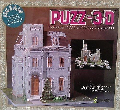Puzz-3D Alexandra Victorian House by Wrebbit
