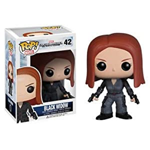 Funko Pop Black Widow (Capitán América: The Winter Soldier 42) Funko Pop Capitán américa