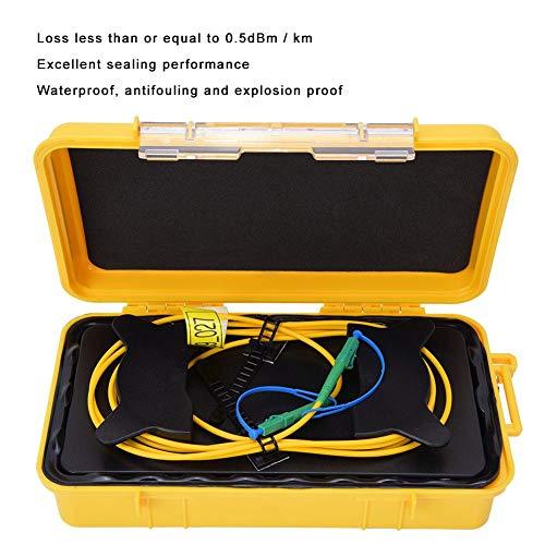 500M OTDR Verlängerungskabel,OTDR Starterkabel Box LC/APC LC/APC Test Verlängerungskabel Glasfaser Starterkabel Single Mode 500M,OTDR Glasfaser Tester Glasfaser Überbrückungsbox