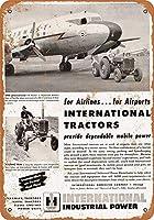 1950年国際トラクターコレクション壁アート