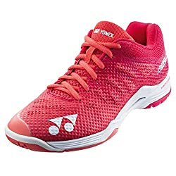 commercial Yonex Power Cushion Aeras 3 Women's Indoor Trainer (Pink) (7.5) badminton shoes womens