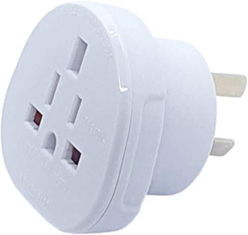 Hasht Daily SAA Certified UK/US/JP/CA to AU/NZ adapter plug, Travel Adapter UK/US Plug Convert to 3-Pin Australian/Ne...