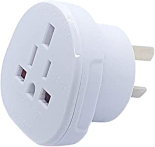 Hasht Daily Travel Adapter UK to Australia Adapter, SAA Certified Adapter Plug Socket Plug with Insulated Pins, Australia ...