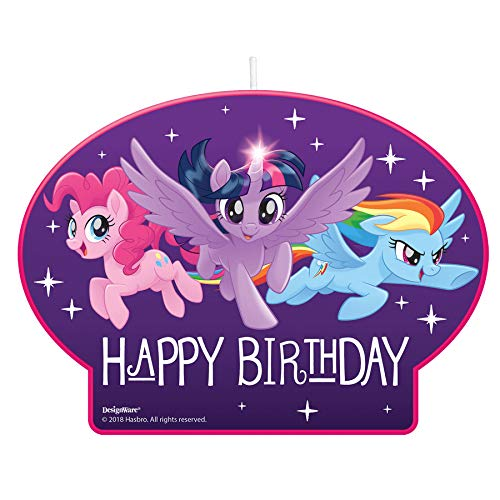 Amscan My Little Pony Friendship Adventures Birthday Candle