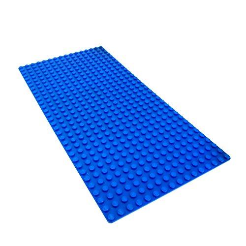 LEGO Piraten - 1 blaue Bauplatte blau flach mit 16x32 Noppen Wasser Meer Ozean
