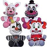Figura de Felpa de Cinco Noches en Freddy'S - FNAF Plush Toy (Juego de 4 ubicaciones Hermanas)