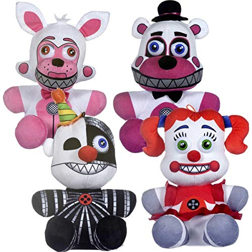 Five Nights At Freddy's Plush Toy - FNAF Plush Toy (Set of 4 Sister Location)
