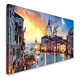 Paul Sinus Art GmbH Venedig Panorama 120x 50cm Panorama