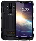 DOOGEE S90 Pro – Android 9.0 Outdoor Smartphone Ohne Vertrag, Helio P70 6GB+128GB, 6.18'' FHD+, IP68 IP69K Wasserdicht/Stoßfest Handy, 16MP+8MP AI Kamera, 4G Globale LTE, NFC, Drahtlose Ladung