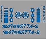 Ecoshirt BC-QDUL-5FD2 Pegatinas Bicicleta Motoreta R303 Stickers Aufkleber Decals Autocollants Adesivi, Azul