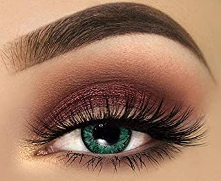 Tutti Cosmetic Monthly Contact Lenses, Aqua Classic - unisex