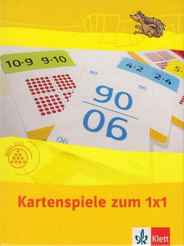 Einmaleins 2: Kartenspiel zum 1x1 Klasse 2 (Programm Mathe 2000+)