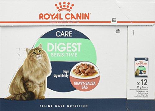 Royal Canin C-58397 Diet Feline Digest Sensitive - 85 gr, pack de 12 ✅
