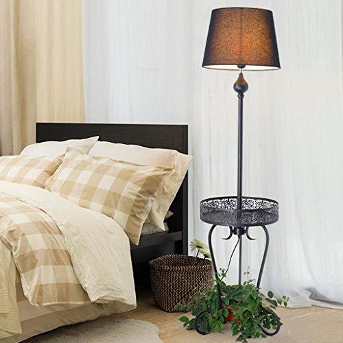 Home staande lamp, staande leeslamp, creatieve staande lamp, woonkamer, bedlamp, landelijke Noordse potplanten, Amerikaanse stijl thuis, tafellamp, Europese stijl, verticaal rek ogen 1