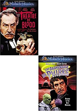 The Abominable Dr. Phibes / Theater of Blood (Midnite Movies) (2 pack)