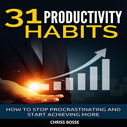 31 Productivity Habits audiobook cover art