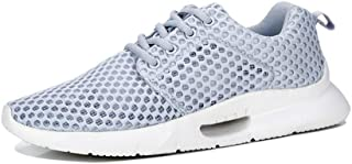ZUAN Acrobatic Shoes for Men Sports Shoes Lace Up Style Mesh Corporeal Fresh and Breathable Shock Absorption Outsole